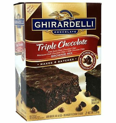 Ghirardelli Chocolate Mix Brownie Triple Premium Makes 4 Batches Cookie 2.26kg