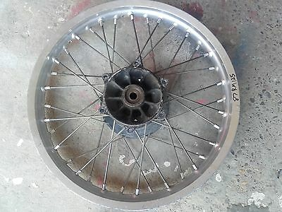 RM125 1987 rear hub with rim