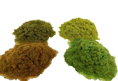 WWS 2mm, 4mm, 6mm Static Grass Railway and War-game Scenery Terrain Landscape