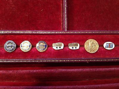 Southern Pacific Service Pin Collection