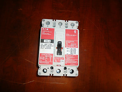 Eaton, Breaker,hfd Mcs 3P 100A, Scws Rating 25Ka @ 600V,cat# Hfd3100K,new N/b