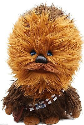 "Underground Toys Disney Star Wars 15"" Talking Plush Chewbacca Stuffed Animal"