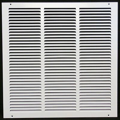 """18"""" x 18"""" RETURN GRILLE - Easy Air FLow - Flat Stamped Face"""