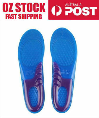 Unisex Shoe Inserts Cushion Massaging Insoles sport gel arch support heel spur
