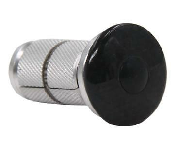 "NEW 3k carbon fiber Headset Top Cap & Fork Expander Bung 1 1/8"" Star Nut"