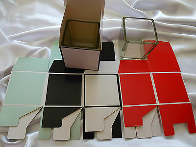 3 x square medium jar boxes. Great gift idea for your candles.