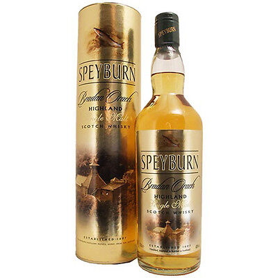 Speyburn's Bradan Orach Single Malt Scotch whisky 700mL
