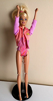 GYMNAST BARBIE- Motion! Hands in fists! Articulated with Gym Suit Included!