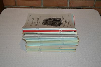 Lot of 39 Vintage Truck and Fire Engine Monthly 1993-1997