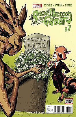 Rocket Raccoon And Groot#7 (2016) 1St Printing Guardians Of The Galaxy