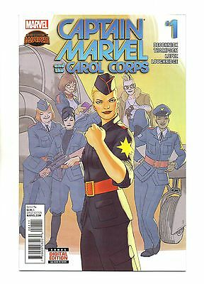 Captain Marvel and the Carol Corps Vol 1 No 1 Aug 2015 (NM)Secret Wars,1st Print