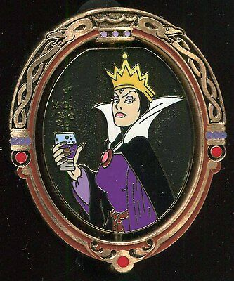 DSF Snow White Evil Queen Hag Spinner LE 300 Disney Pin 73030
