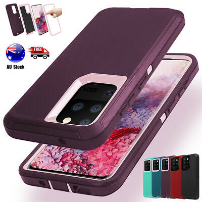 Armor Heavy Duty Case Cover Samsung Galaxy S9 S10+ S10e Note 10 8 9 S7 S8+ Plus