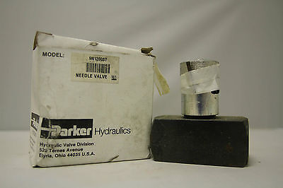 Parker Fluid Power Industrial Hydraulic Needle Valve 9N1200St, N400S T -11 Dt