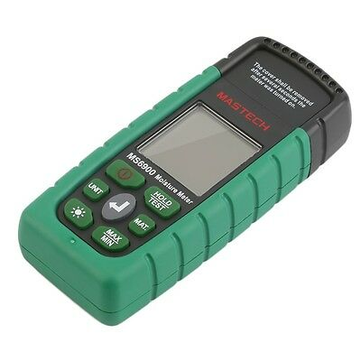 Mastech MS6900 Digital Wood Moisture Temperature Meter Humidity Tester IY
