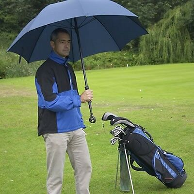 Golf Umbrella with Ball Retriever Extending Handle Sports Shelter