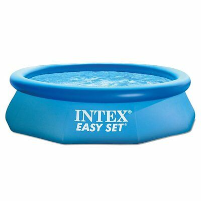 Intex 280004-1 Easy Set Aufstellpool Swimming-Pool 305x76cm 3358L SUPER-TOUGH