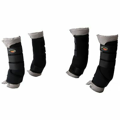 Horka Horse Travelling Stable Boots Transport Protectors Removable Cotton Lining