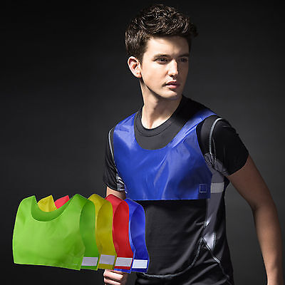 Cheap Adjustable Rugby Soccer Football Sport Training Bibs Vest