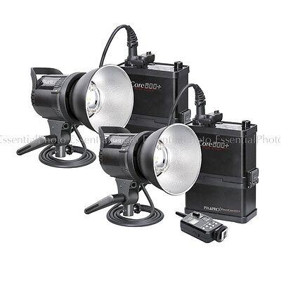 PowerCore 600+ Twin Kit Portable Flash Outdoor Strobe Event Photography