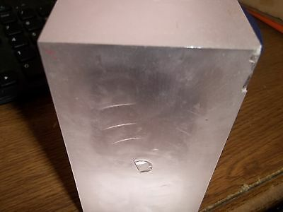 Lab Created Man Made Sapphire 17,293 Carat 7Lb 10Oz Block Pink Make Offer (Ii2)