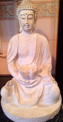 Large Lotus Buddha, Latex Craft Mould Ornament Reusable Art & Crafts Hobby