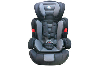 Grey Mcc 3 in 1 Baby Child Car Safety Booster Seat Group 1/2/3 9-36kg ECE R44/04