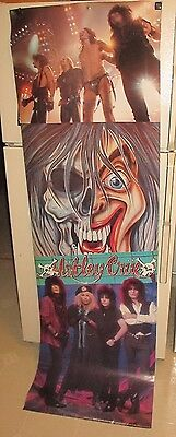 Motley Crue Door Poster Dr Feelgood 1990 Nikki Sixx Tommy Lee Vince Neil