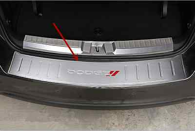 Outer Rear Bumper Protector Sill Plate Cover for Dodge Journey 2013- 2016