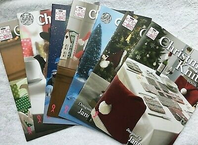 KING COLE CHRISTMAS KNITS BOOKS 1, 2, 3, 4, 5 and 6