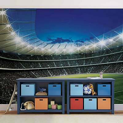 Football Stadium WALL MURAL PHOTO WALLPAPER (323DK)