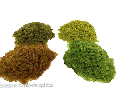 WWS 2mm Static Grass Railway and War-game Scenery Terrain Landscape Large Choice