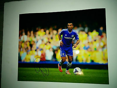 Chelsea FC Ashley Cole signed 11x14 photo w/ COA