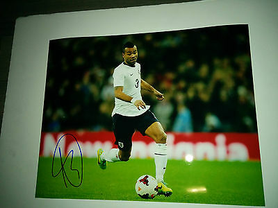 Team England Ashley Cole signed 11x14 photo w/ COA