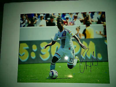 Los Angeles Galaxy Giovani Dos Santos signed 11x14 photo w/ COA