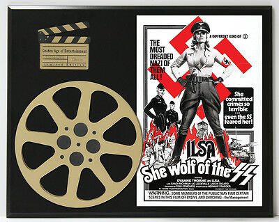 Ilsa: She Wolf Of The Ss Thorne & Knoph Poster Ltd Edition Movie Reel Display