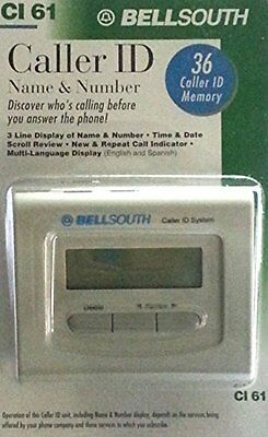 Bell South Caller ID Name and Number CI-61