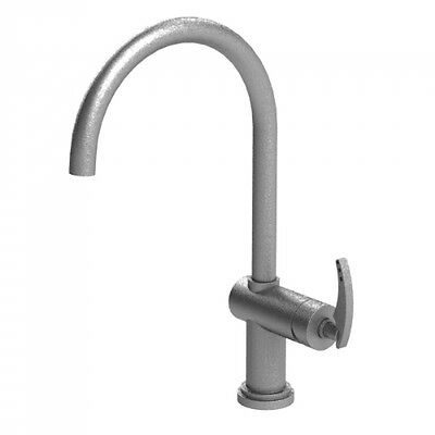 Rubinet 8DLALAB Kitchen Faucet With a Single Lever Handle, Antique Brass