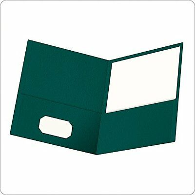Oxford Twin Pocket Folders, Letter Size, Teal, 25 per Box (57555)
