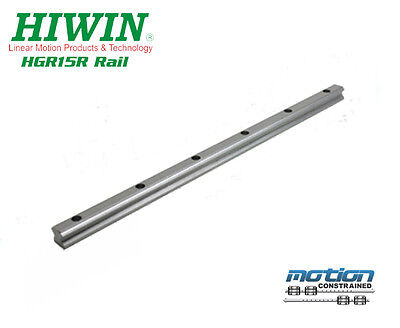 New Hiwin HGR15R Linear Guideway Rail HGR15 Series up to 4000mm Long
