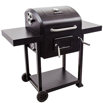 Char-Broil 580 580-Square Inch Crank Adjusting Charcoal Grill - 16302038
