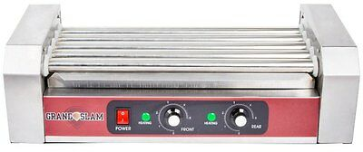Hot Dog Roller Sausage Cooker Warmer 12 Capacity Concession Countertop Grill