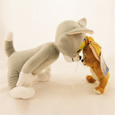 Stuffed Animal Toy  Tom and Jerry Plush Doll Cartoon Anime Cat & Mouse
