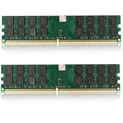 8 GB 2x4GB Memory RAM DDR2 800Mhz PC2 6400 240 pins Dimm For AMD Motherboard CPU
