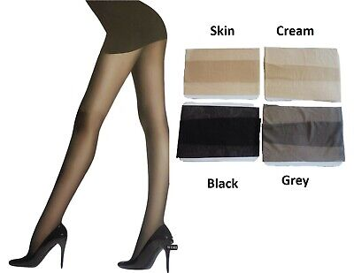 Sheer Stocking Pantyhose Tights | Black Grey Skin Cream | Silky Smooth or Mesh