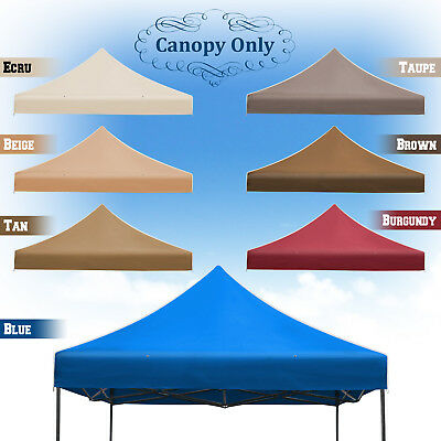 New 10x10u0027 Ez POP UP Replacement Canopy Instant Gazebo Tent Polyester Cover  sc 1 st  PicClick & NEW 10u0027X10u0027 Ez POP UP Tent Replacement Canopy Instant Gazebo ...