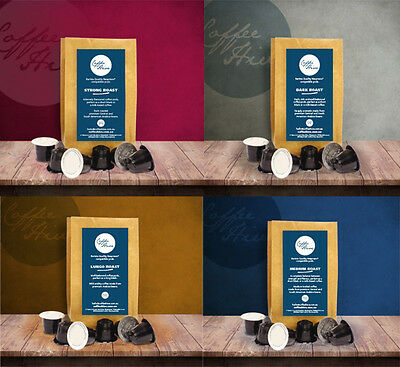 60 Nespresso Compatible Coffee Pods Capsules VARIETY Pack European Roasted