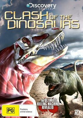 Clash Of The Dinosaurs (DVD, 2011, 2-Disc Set) New Region 4
