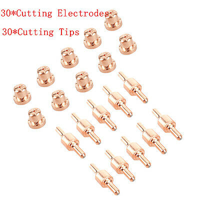 60x consumables Extended Long Tip Electrode For PT31 LG40 40A Air Plasma Cutter