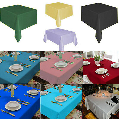 Clean Plastic Table Cover Cloth Wipe Party Tablecloth Covers Cloths